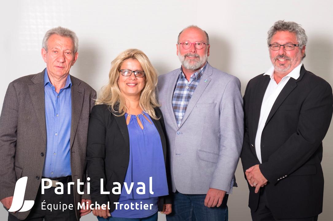 Le Parti Laval – Équipe Michel Trottier annonce trois nouveaux candidats