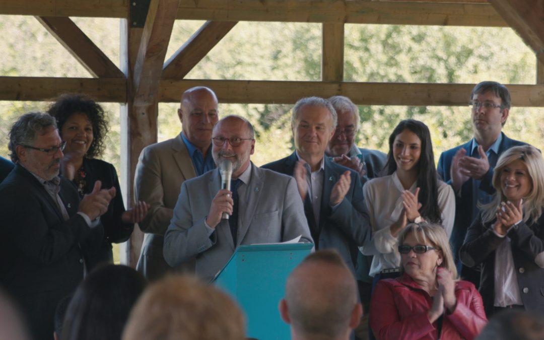 Insuffler une vision à Laval:  Le lancement de la campagne électorale du Parti Laval-Équipe Michel Trottier